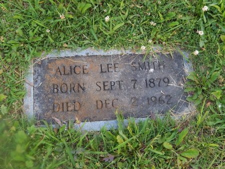 SMITH, ALICE - Knox County, Tennessee | ALICE SMITH - Tennessee Gravestone Photos