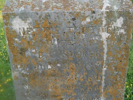 TROTTER SMOKER, NETTIE - Knox County, Tennessee | NETTIE TROTTER SMOKER - Tennessee Gravestone Photos