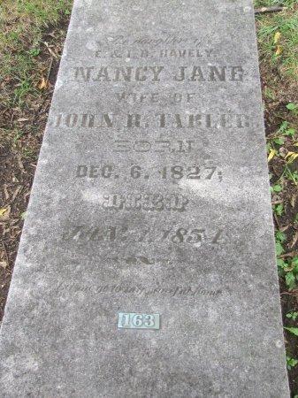 TABLER, NANCY JANE - Knox County, Tennessee   NANCY JANE TABLER - Tennessee Gravestone Photos