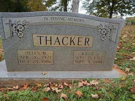 THACKER, HELEN M - Knox County, Tennessee | HELEN M THACKER - Tennessee Gravestone Photos