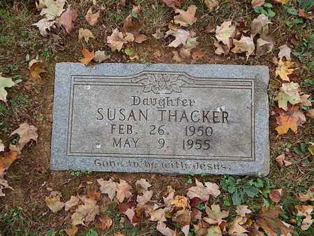 THACKER, SUSAN - Knox County, Tennessee | SUSAN THACKER - Tennessee Gravestone Photos