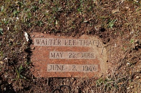 THACKER, WALTER LEE - Knox County, Tennessee | WALTER LEE THACKER - Tennessee Gravestone Photos