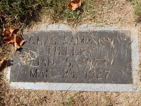TILLERY, CHARLES SAMPSON - Knox County, Tennessee | CHARLES SAMPSON TILLERY - Tennessee Gravestone Photos