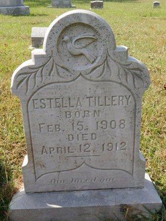 TILLERY, ESTELLA - Knox County, Tennessee | ESTELLA TILLERY - Tennessee Gravestone Photos
