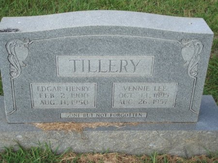TILLERY, EDGAR HENRY - Knox County, Tennessee | EDGAR HENRY TILLERY - Tennessee Gravestone Photos