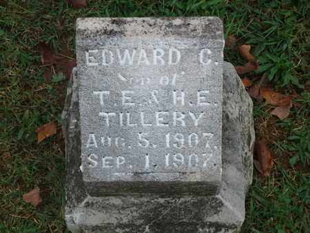 TILLERY, EDWARD C - Knox County, Tennessee | EDWARD C TILLERY - Tennessee Gravestone Photos