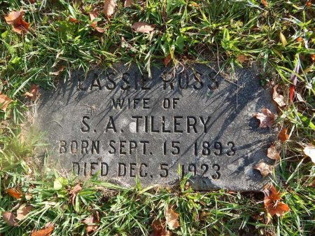 TILLERY, LASSIE  - Knox County, Tennessee | LASSIE  TILLERY - Tennessee Gravestone Photos