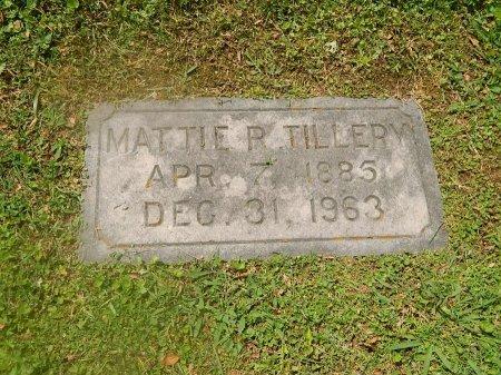 TILLERY, MATTIE R - Knox County, Tennessee | MATTIE R TILLERY - Tennessee Gravestone Photos