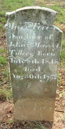 TILLERY, MARY TERESA - Knox County, Tennessee | MARY TERESA TILLERY - Tennessee Gravestone Photos