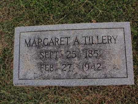 TILLERY, MARGARET A - Knox County, Tennessee | MARGARET A TILLERY - Tennessee Gravestone Photos