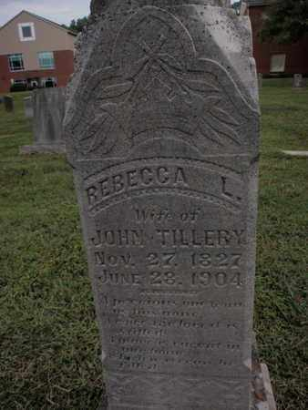 TILLERY, REBECCA L - Knox County, Tennessee | REBECCA L TILLERY - Tennessee Gravestone Photos