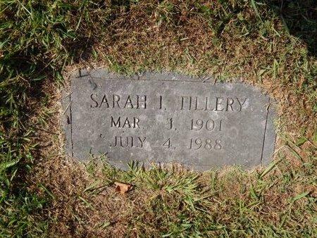 TILLERY, SARAH I - Knox County, Tennessee | SARAH I TILLERY - Tennessee Gravestone Photos