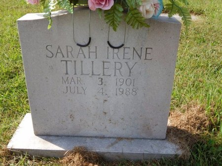 TILLERY, SARAH IRENE - Knox County, Tennessee | SARAH IRENE TILLERY - Tennessee Gravestone Photos