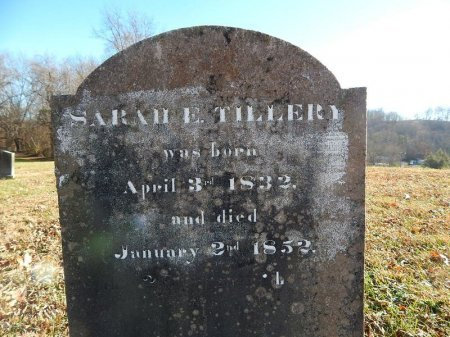 TILLERY, SARAH E - Knox County, Tennessee | SARAH E TILLERY - Tennessee Gravestone Photos