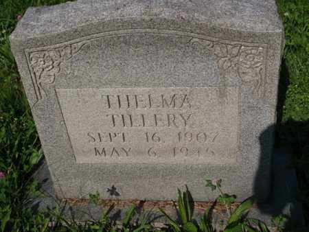 TILLERY, THELMA - Knox County, Tennessee | THELMA TILLERY - Tennessee Gravestone Photos