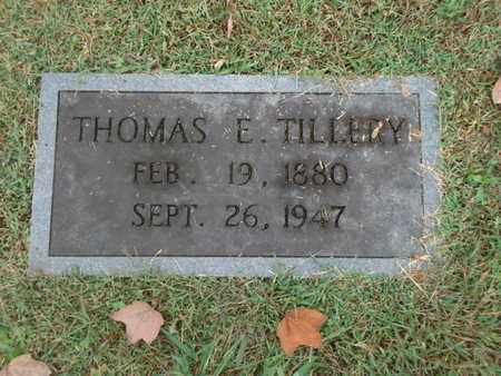 TILLERY, THOMAS ELMER - Knox County, Tennessee | THOMAS ELMER TILLERY - Tennessee Gravestone Photos