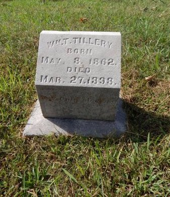 TILLERY, WILLIAM T - Knox County, Tennessee | WILLIAM T TILLERY - Tennessee Gravestone Photos