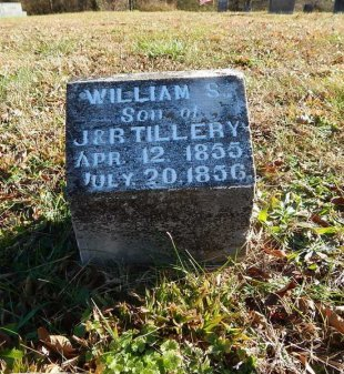 TILLERY, WILLIAM S - Knox County, Tennessee | WILLIAM S TILLERY - Tennessee Gravestone Photos
