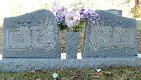 DUNCAN, CASSANDRA - Knox County, Tennessee | CASSANDRA DUNCAN - Tennessee Gravestone Photos