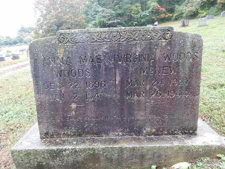 WOODS, ANNA MAE - Knox County, Tennessee   ANNA MAE WOODS - Tennessee Gravestone Photos