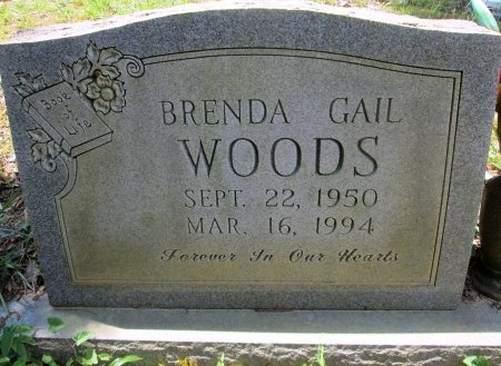 WOODS, BRENDA GAIL - Knox County, Tennessee | BRENDA GAIL WOODS - Tennessee Gravestone Photos