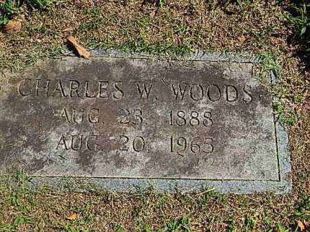 WOODS, CHARLES W - Knox County, Tennessee | CHARLES W WOODS - Tennessee Gravestone Photos