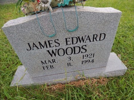WOODS, JAMES EDWARD - Knox County, Tennessee | JAMES EDWARD WOODS - Tennessee Gravestone Photos