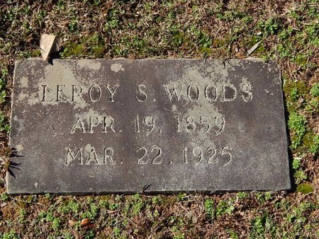 WOODS, LEROY S - Knox County, Tennessee | LEROY S WOODS - Tennessee Gravestone Photos