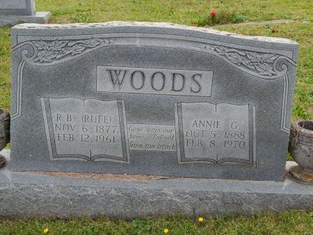 "WOODS, RUTHERFORD B ""RUFE"" - Knox County, Tennessee 