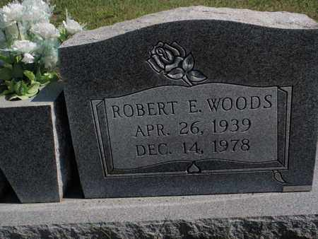 WOODS, ROBERT E - Knox County, Tennessee | ROBERT E WOODS - Tennessee Gravestone Photos