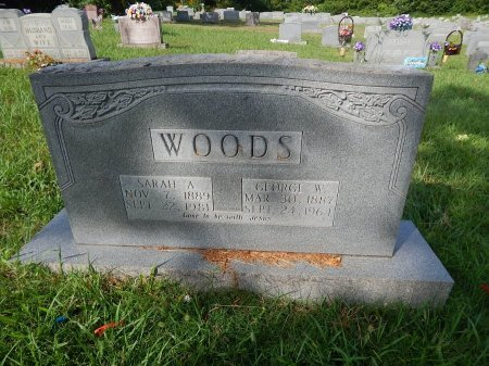 WOODS, GEORGE W - Knox County, Tennessee | GEORGE W WOODS - Tennessee Gravestone Photos