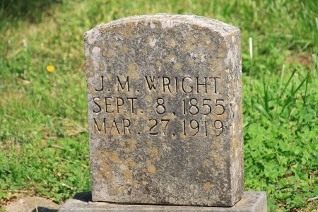 WRIGHT, J. M. - Knox County, Tennessee | J. M. WRIGHT - Tennessee Gravestone Photos