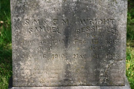 WRIGHT, BESSIE LEE - Knox County, Tennessee | BESSIE LEE WRIGHT - Tennessee Gravestone Photos