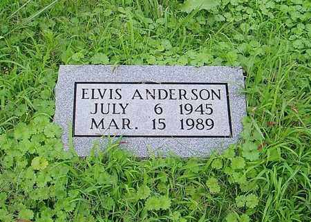 ANDERSON, ELVIS - Lauderdale County, Tennessee | ELVIS ANDERSON - Tennessee Gravestone Photos