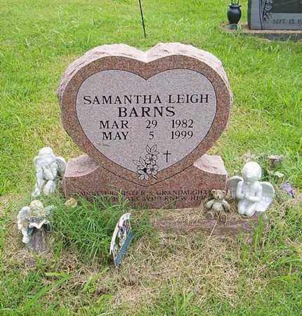 BARNS, SAMANTHA LEIGH - Lauderdale County, Tennessee   SAMANTHA LEIGH BARNS - Tennessee Gravestone Photos