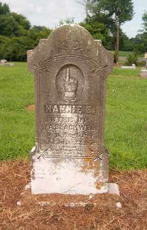 BLACKWELL, NANNIE E - Lauderdale County, Tennessee | NANNIE E BLACKWELL - Tennessee Gravestone Photos