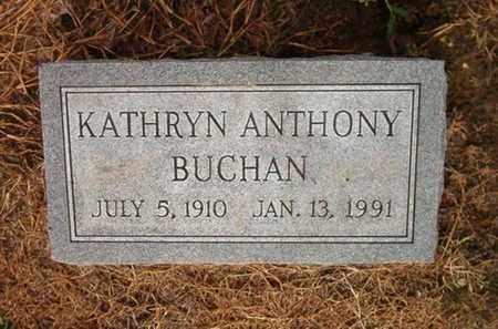 BUCHAN, KATHRYN - Lauderdale County, Tennessee | KATHRYN BUCHAN - Tennessee Gravestone Photos