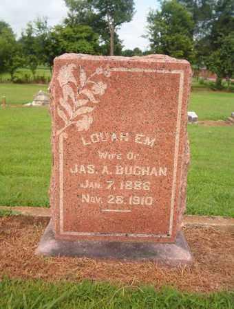 BUCHAN, LOUAH EM - Lauderdale County, Tennessee | LOUAH EM BUCHAN - Tennessee Gravestone Photos