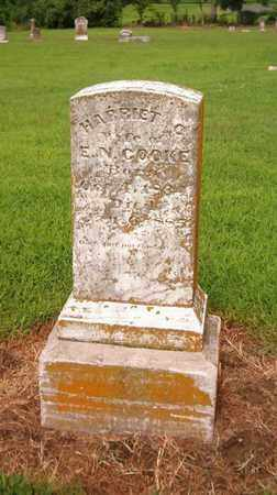 COOKE, HARRIET - Lauderdale County, Tennessee | HARRIET COOKE - Tennessee Gravestone Photos