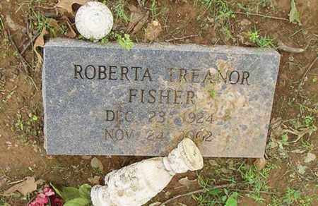 FISHER, ROBERTA TREANOR - Lauderdale County, Tennessee | ROBERTA TREANOR FISHER - Tennessee Gravestone Photos