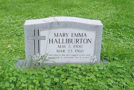 HALLIBURTON, MARY EMMA - Lauderdale County, Tennessee | MARY EMMA HALLIBURTON - Tennessee Gravestone Photos