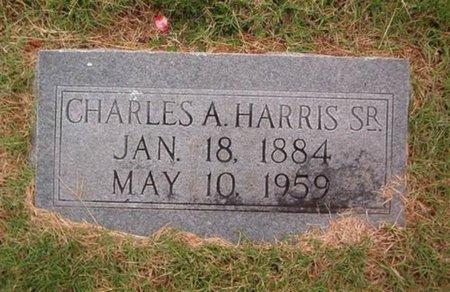HARRIS, SR., CHARLES A. - Lauderdale County, Tennessee | CHARLES A. HARRIS, SR. - Tennessee Gravestone Photos