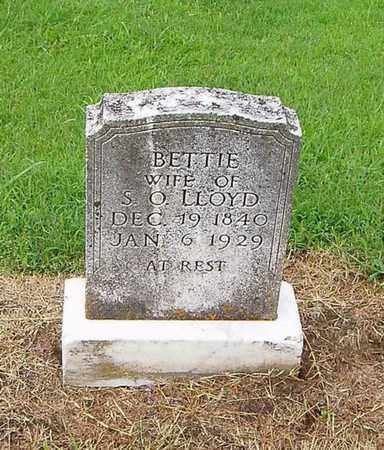 LLOYD, BETTIE - Lauderdale County, Tennessee | BETTIE LLOYD - Tennessee Gravestone Photos