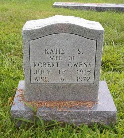 OWENS, KATIE S. - Lauderdale County, Tennessee | KATIE S. OWENS - Tennessee Gravestone Photos