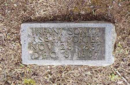 PORTER, INFANT - Lauderdale County, Tennessee   INFANT PORTER - Tennessee Gravestone Photos