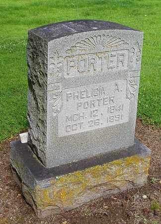 PORTER, PHELICIA A - Lauderdale County, Tennessee | PHELICIA A PORTER - Tennessee Gravestone Photos