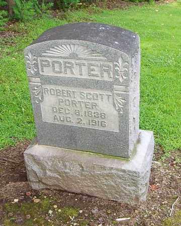 PORTER, ROBERT SCOTT - Lauderdale County, Tennessee   ROBERT SCOTT PORTER - Tennessee Gravestone Photos