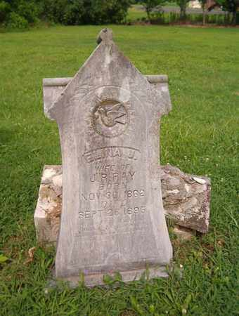 RAY, ELINA J - Lauderdale County, Tennessee | ELINA J RAY - Tennessee Gravestone Photos