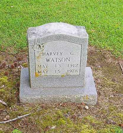 WATSON, HARVEY G - Lauderdale County, Tennessee | HARVEY G WATSON - Tennessee Gravestone Photos