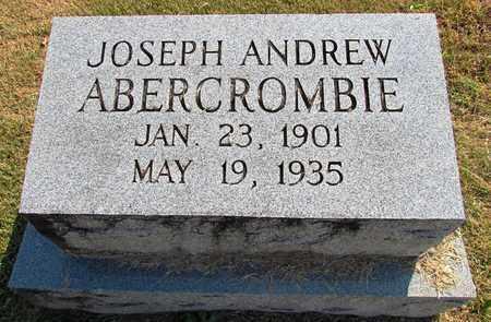 ABERCROMBIE, JOSEPH ANDREW - Lawrence County, Tennessee | JOSEPH ANDREW ABERCROMBIE - Tennessee Gravestone Photos